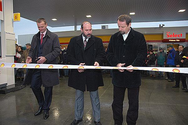 Společnost Shell otevřela čerpací stanice na novém úseku dálnice D47