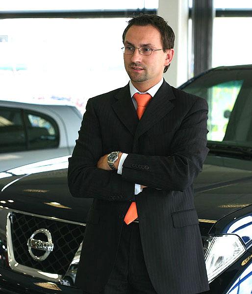 Nový Country manager Nissanu pro Čechy a Slovensko