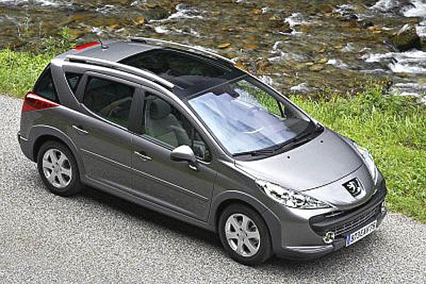 Peugeot 207 SW v nové verzi Outdoor je stvořený pro cesty za dobrodružstvím