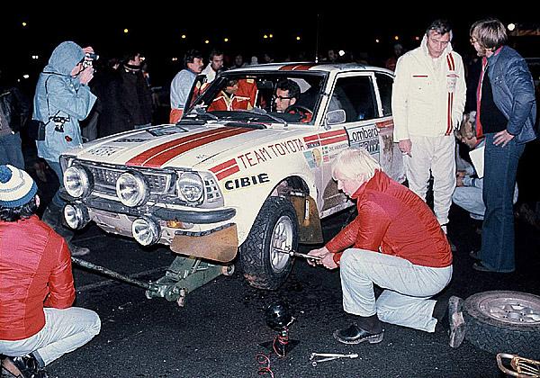 Toyota truchlí nad úmrtím Ove Anderssona, legendy závodních tratí