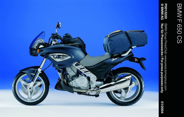 Společnost AuTec Group a.s., generální importér značky BMW pro ČR na výstavě Motocykl 2004