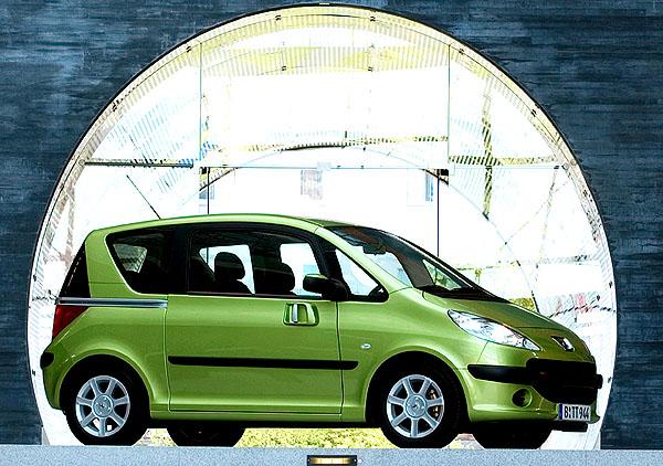Peugeot 1007 - automobilové potěšení snovou příchutí