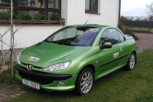 Peugeot 206CC vtestu redakce