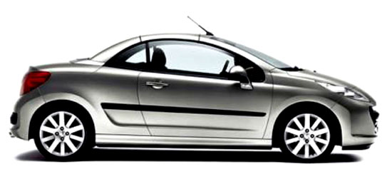 Peugeot uvádí na trh nové kupé kabriolet 207 CC