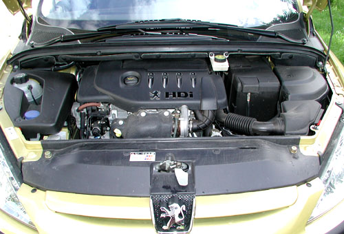 Peugeot 307 snejnovějším naftovým motorem 1,4 HDI vtestu redakce