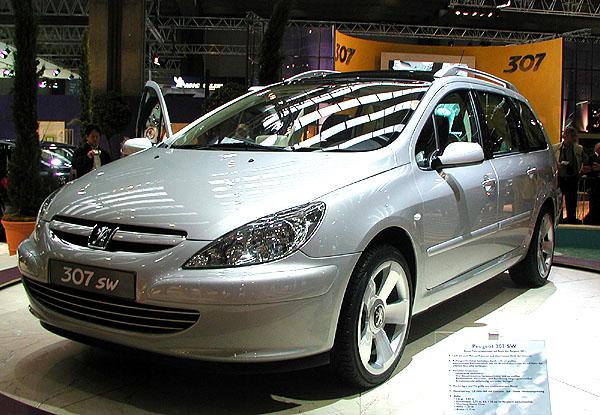 Nový Peugeot 307 SW – vůz (nejen) pro volný čas