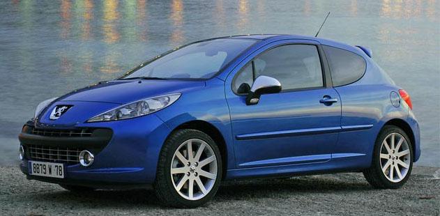 Peugeot 207 RC … další sportovní verze malého výkonného vozů