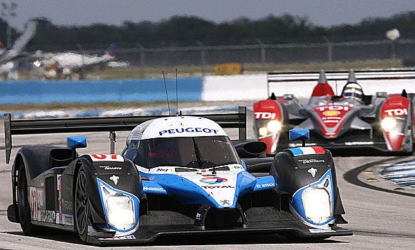 Na programu Le Mans Series 2008 je pět závodů