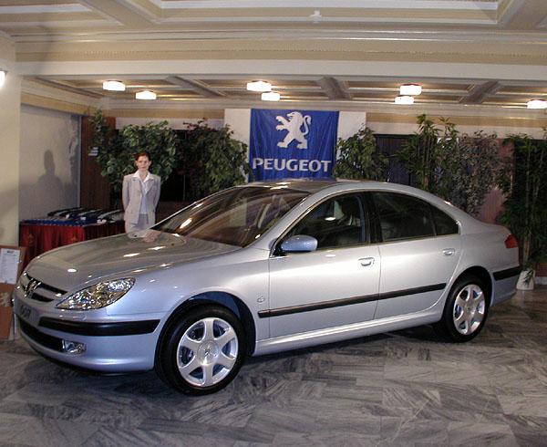 Nový Peugeot 607 na náš trh