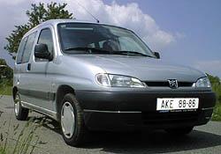Peugeot Partner vredakčním testu