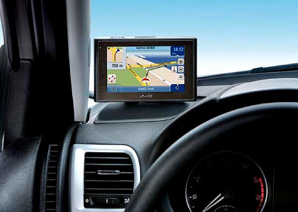 Navigace Mio pro vozy Škoda
