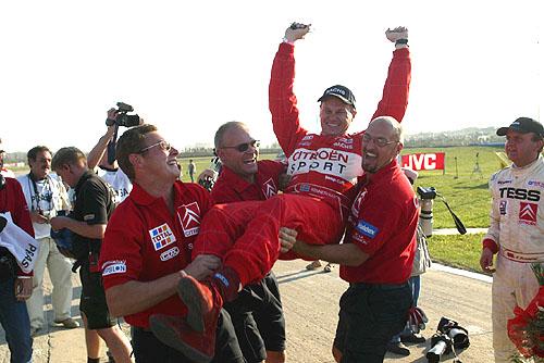 Kenneth Hansen sCitroen Xsara získal svůj 11. titul mistra Evropy v Rallycrossu