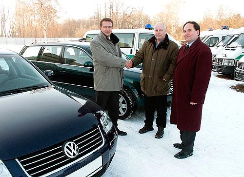 Volkswageny ve službách Policie ČR