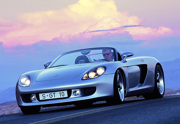 Porsche Carrera GT pro labužníky