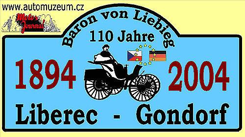 Jízda po stopách barona Liebiege po 110ti letech