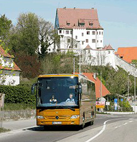 Podrobně o testovacím autobusu Mercedes-Benz Tourismo M