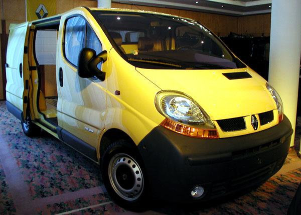 Nový Renault Trafic do prodeje na náš trh