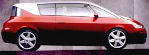 Prototyp Renault Avantime na Ženevském autosalónu 1999