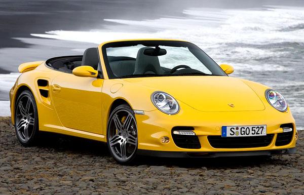 Nový sportovní Porsche 911 Turbo Cabriolet v září 2007 na náš trh