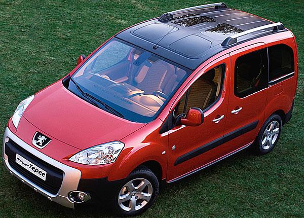 Nový Peugeot Partner Tepee