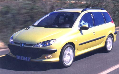 Peugeot 206 SW na český trh 2.září 2002