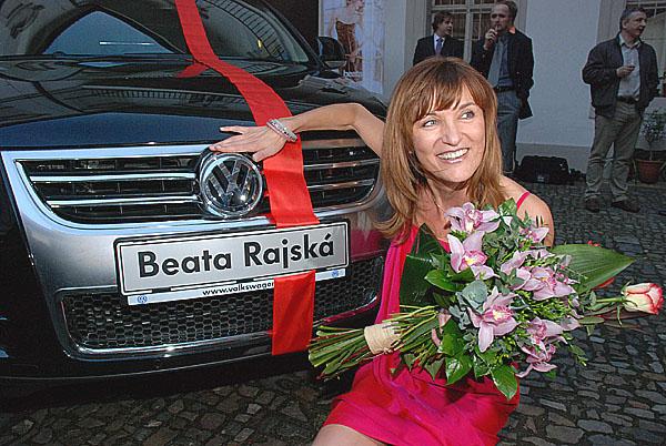 Beata Rajská se rozhodla pro nový model: Volkswagen Touareg