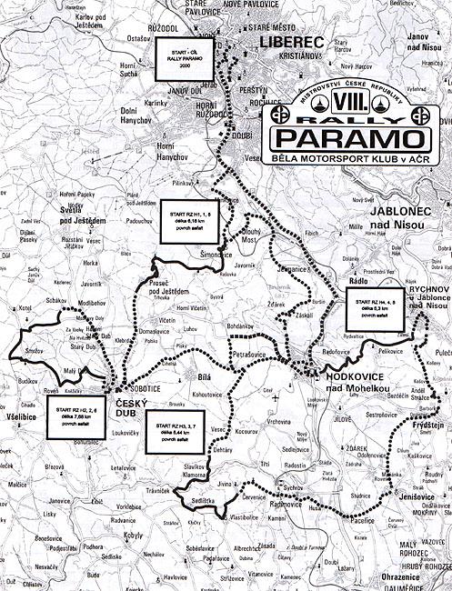 Rallye Paramo 2000: Pavel Sibera opět s Octávií