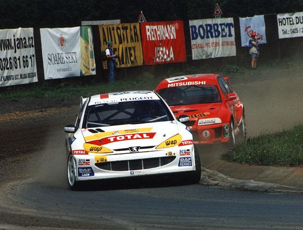 Rallycrossový souboj Hansen – Eklund pokračuje