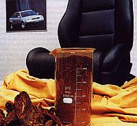 Interiéry z kůže: Místo chemikálií rebarbora