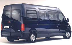 Renault uvádí na trh 15 až 16 místný MASTER Minibus