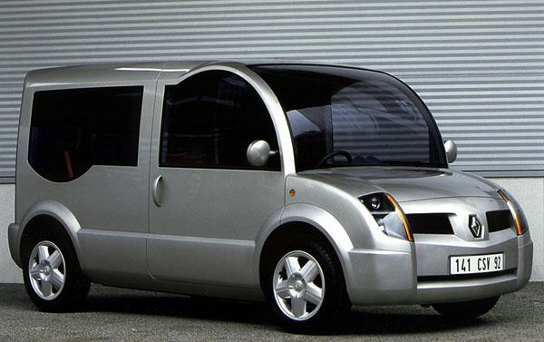 Renault Operandi a Modus2: prototypy městských užitkových vozidel