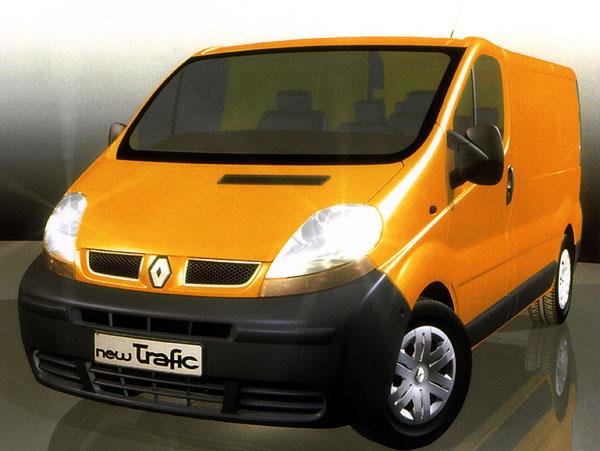 Renault Trafic vnovém designu