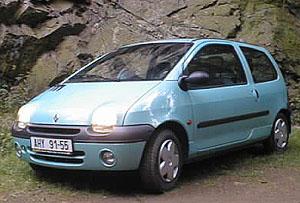 Renault Twingo 2 – malé svelkým prostorem