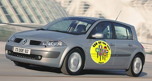Renault vroce 2002 prvním importérem v České republice