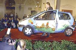 Renaulty Twingo vydraženy