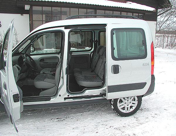 Renault Kangoo s pohonem všech kol v testu redakce