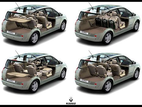 Nový Renault Scénic II vprodeji na našem trhu