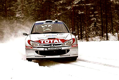 Švédská rallye zahájila včera ve čtvrtek - končí vneděli 8. února.