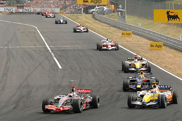 Renault na F1 - Grand Prix Maďarska (5.srpna 2007)