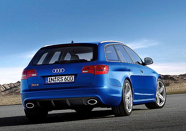 Nové Audi RS6 Avant poprvé vystaveno na probíhajícím autosalonu ve Frankfurtu