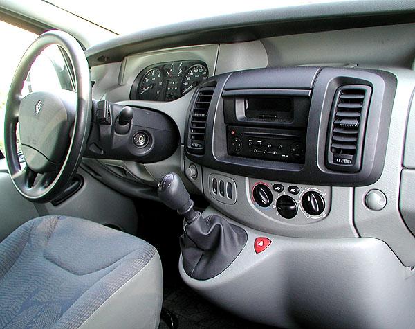 Nový Renault Trafic vredakčním testu