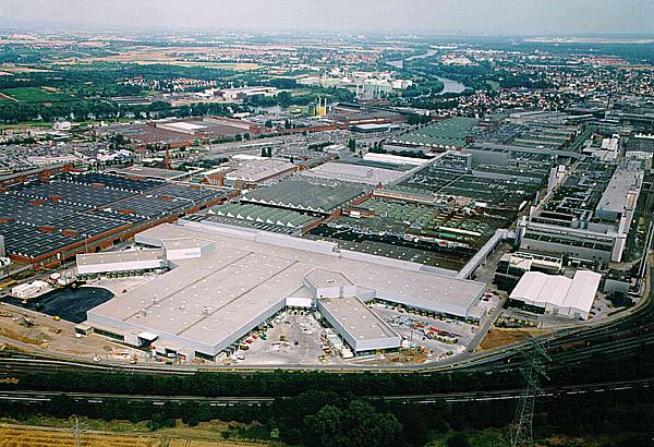 Atraktivní využití historické továrny Opel vRüsselsheimu