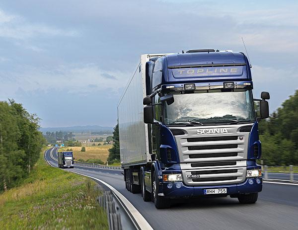 Téměř 200 nových trucků Scania do Skandinávie