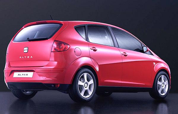 Seat Altea - již za měsíc bude představena ve světové premiéře na mezinárodním autosalonu v Ženevě