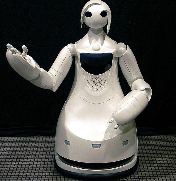 Toyota vyvíjí robota – průvodce