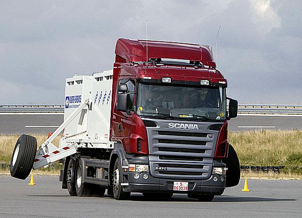 Scania - vylepšení na nákladních vozidlech