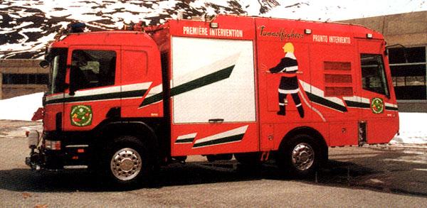 Scania - první nákladní vůz se dvěma kabinami