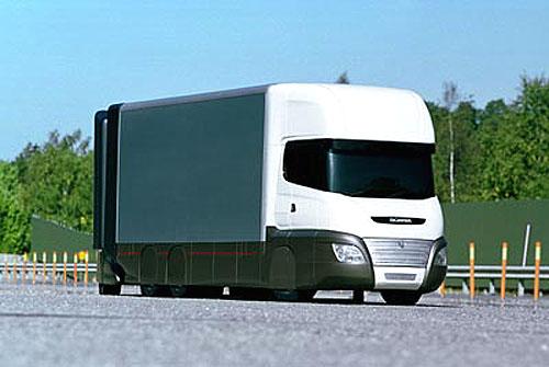 Scania: Inteligentní dopravní systémy při práci aneb nahlédnutí do roku 2010