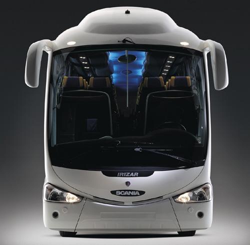 Scania Irizar PB – nový luxusní dálkový autobus sdvanáctilitrovým motorem 420 k