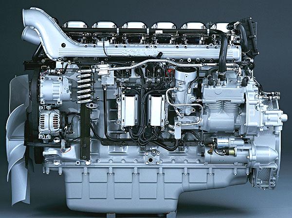 Scania: Paleta hnacích ústrojí nové řady R